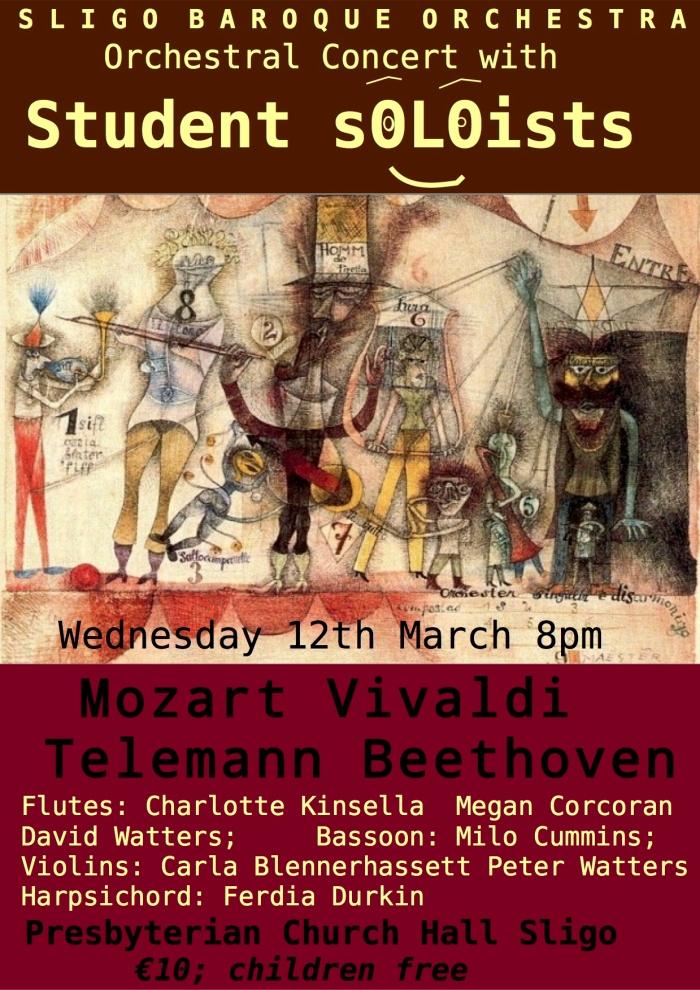 Student Soloists concert in Sligo