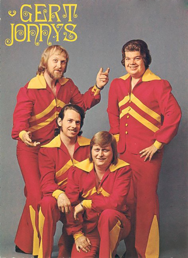The Gert Jonnys, not to be confused w/ The Gert Johnnys